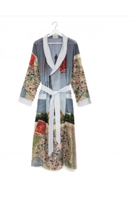 One Hundred Stars Eiffel Tower Map Robe