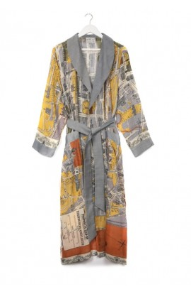 One Hundred Stars Edinburgh Map Robe