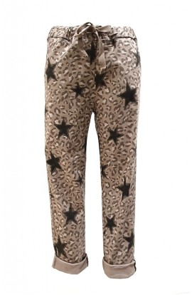 Star Leopard Magic Pants