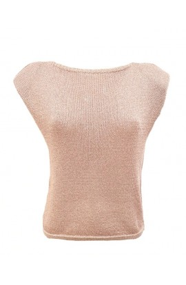 Knitted Padded Shoulder Top (More Colours)