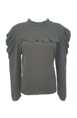 Frill Front Top (More Colours)