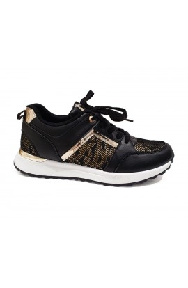 Letters Trainers Black