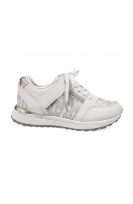 Letters Trainers White