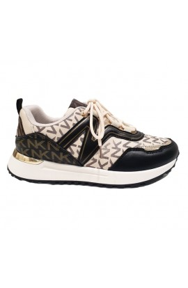 Letters Trainers Beige