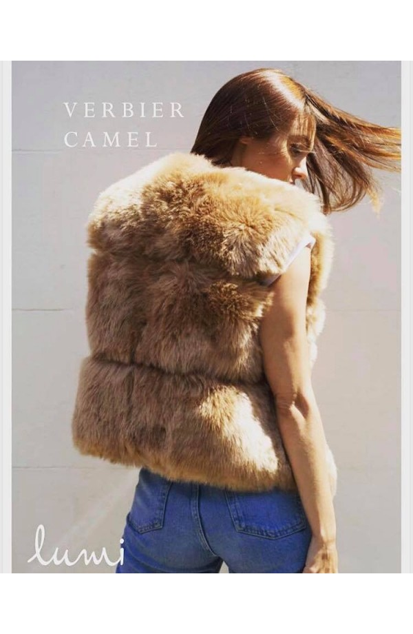 Verbier Gilet Camel