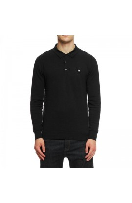 Yacuiba Long Sleeve Polo Shirt Black