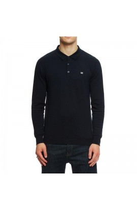 Yacuiba Long Sleeve Polo Shirt Navy