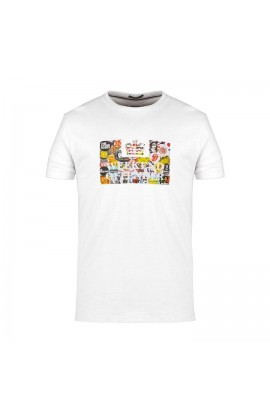 Badges T.Shirt White
