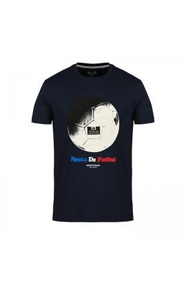 Fiesta De Futbol T.Shirt Navy