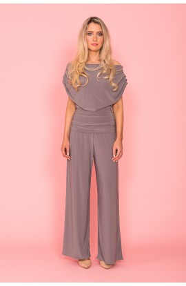 Carbon Jumpsuit Taupe