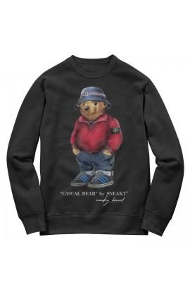Stone Island Bear Sweater Black
