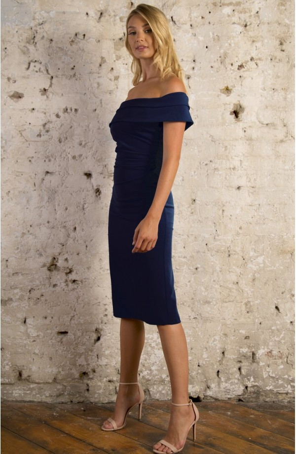 Clara Dress Navy