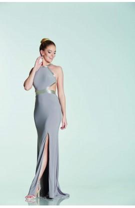 Sequin Edge Cut Out Dress