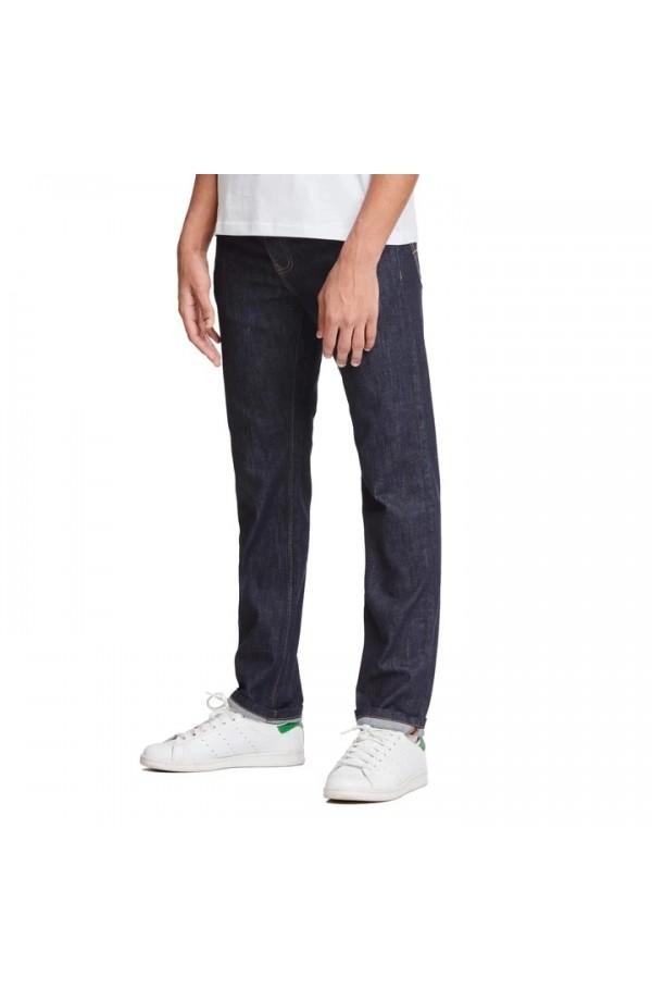 444 Tapered Jeans Short Dark Rinse