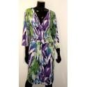 Cross Over Leaf Dress