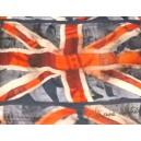 Vivienne Westwood New Flag Shawl Blue/Red