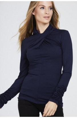 Twisted Neck Top (More colours)