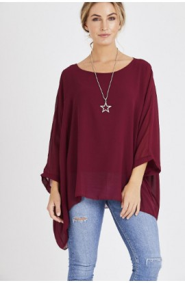 Batwing Necklace Top (more colours)