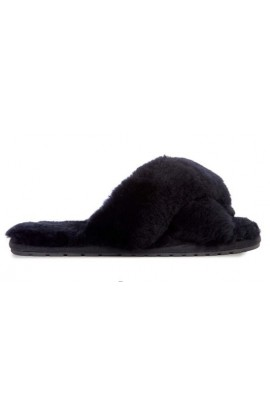 Emu Australia Mayberry Sheepskin Slipper Black