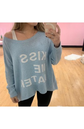 Kiss Me Later Jumper (More Colours)