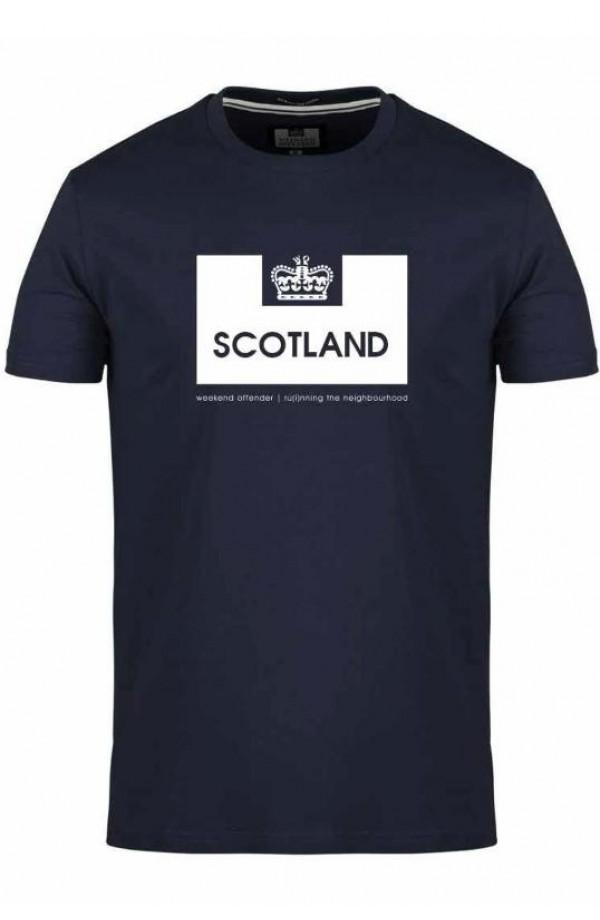 Scotland T Shirt Navy