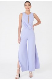 Lavish Alice Draped Wide Leg Jumpsuit LA804
