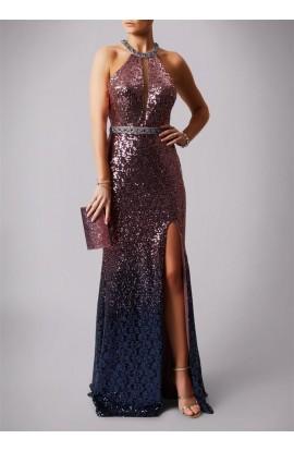 Dip Dye Sequin Dress
