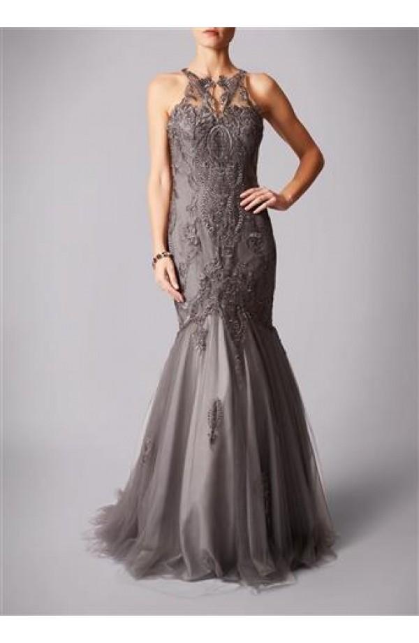 Lace Detail Mermaid Dress