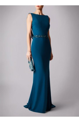 Drop Back Cowl Gown