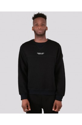 Siren Crew Neck Jumper Black