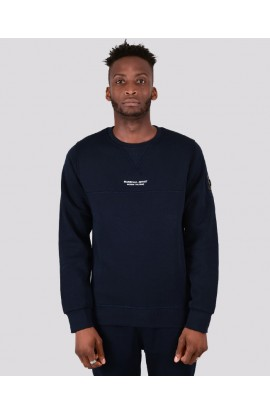 Siren Crew Neck Jumper Navy