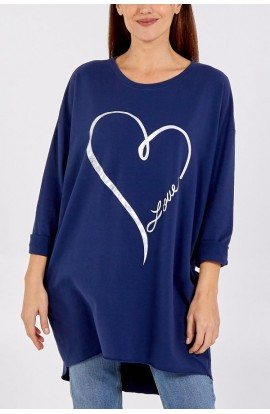 Love Oversize Top (More Colours)