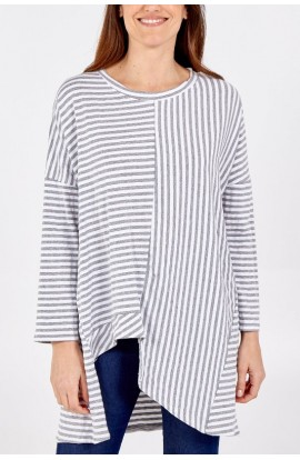 Asymmetric Stripe Top (More Colours)