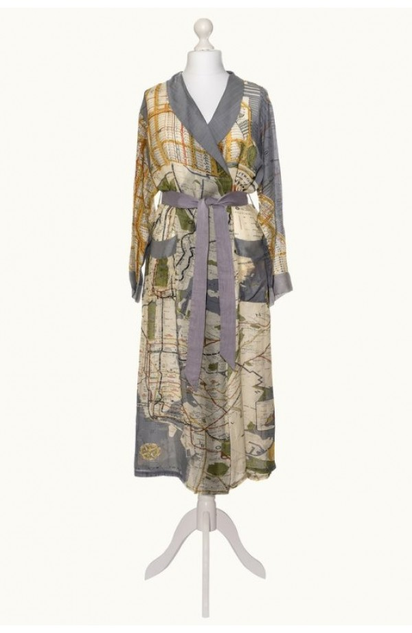 One Hundred Stars New York Map Gown