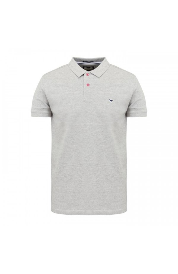 Trujiilo Polo Shirt Grey Marl
