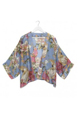 One Hundred Stars Parrot Kimono