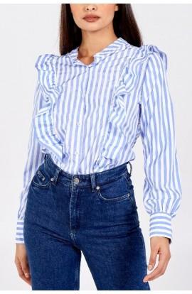 Stripe Shirt Blue