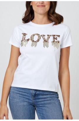 Love Top White