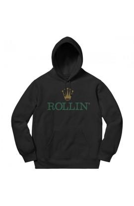 Rollin' Hoodie Black