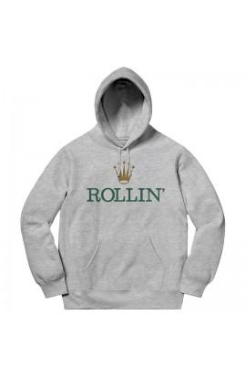 Rollin' Hoodie Grey