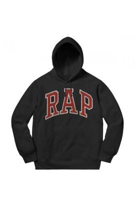 Rap Hoodie Black