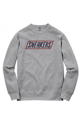 Sneakers Jumper Grey