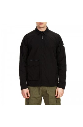 Vinnie Overshirt  Black