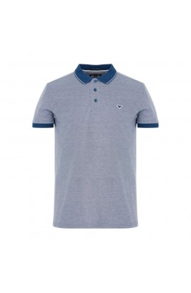Sonny Polo Shirt Agean/White