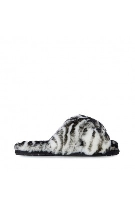 Emu Australia Mayberry Animal  Sheepskin Slipper Black