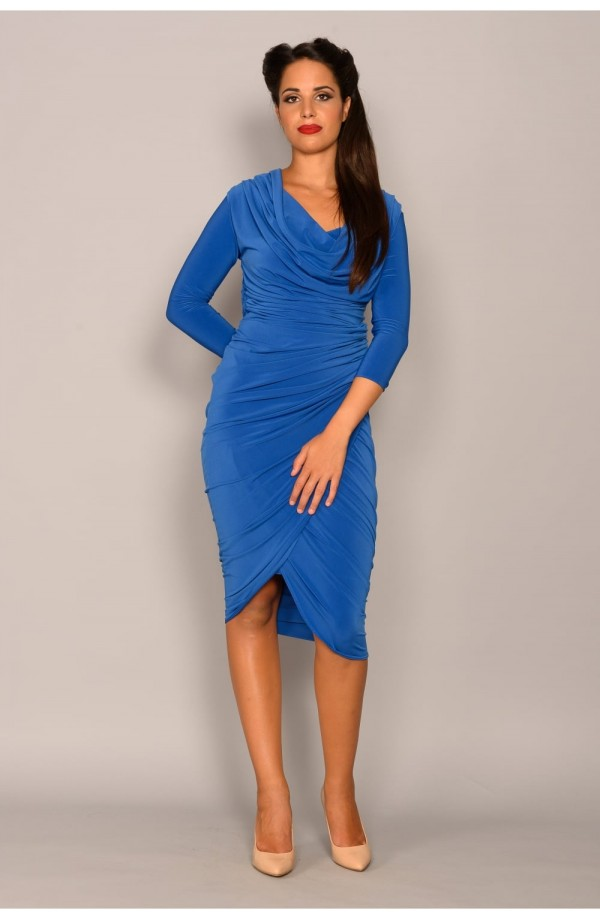 Mercury Dress Cobalt