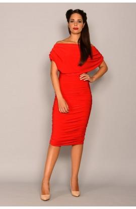 Oxygen Dress Red