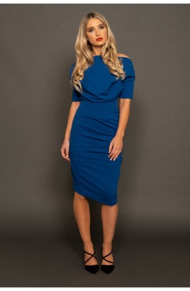 Verona Dress Cobalt