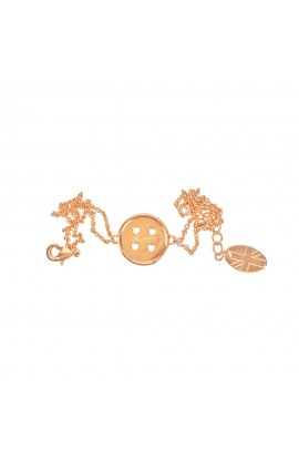 Cute As A Button Bracelet Rose Gold