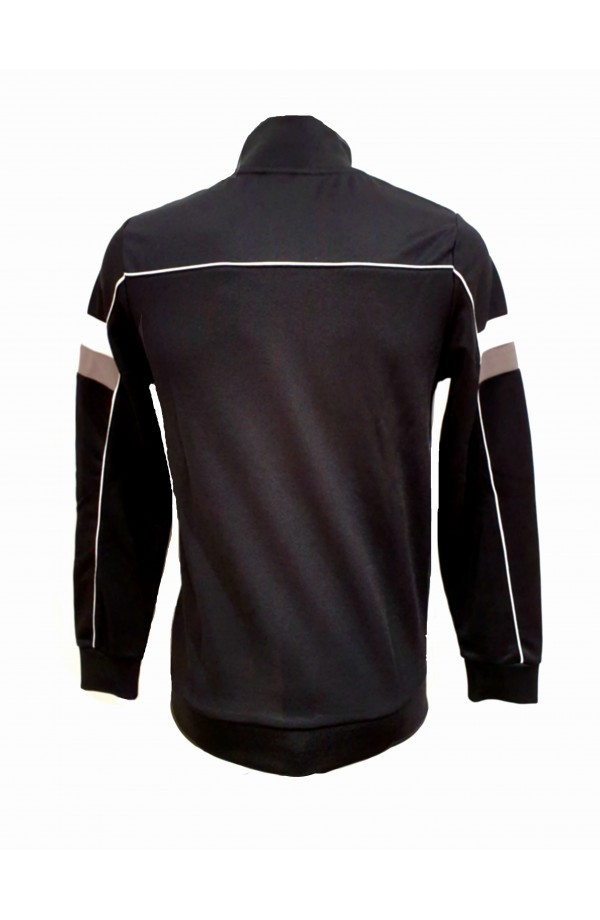 Slalom Funnel Neck Track Jacket Black